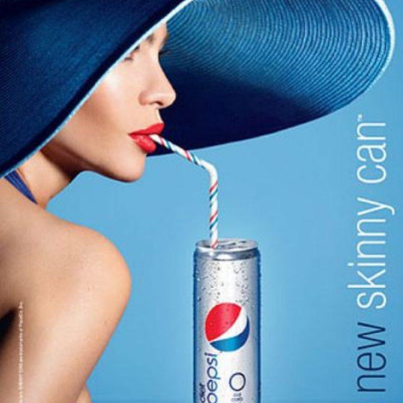 Adquirió fama en Colombia precisamente protagonizando un comercial así. Foto:vía Pepsi