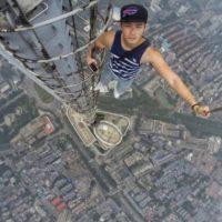 En un rascielos. Foto:Vía Instagram.com/daniel__lau