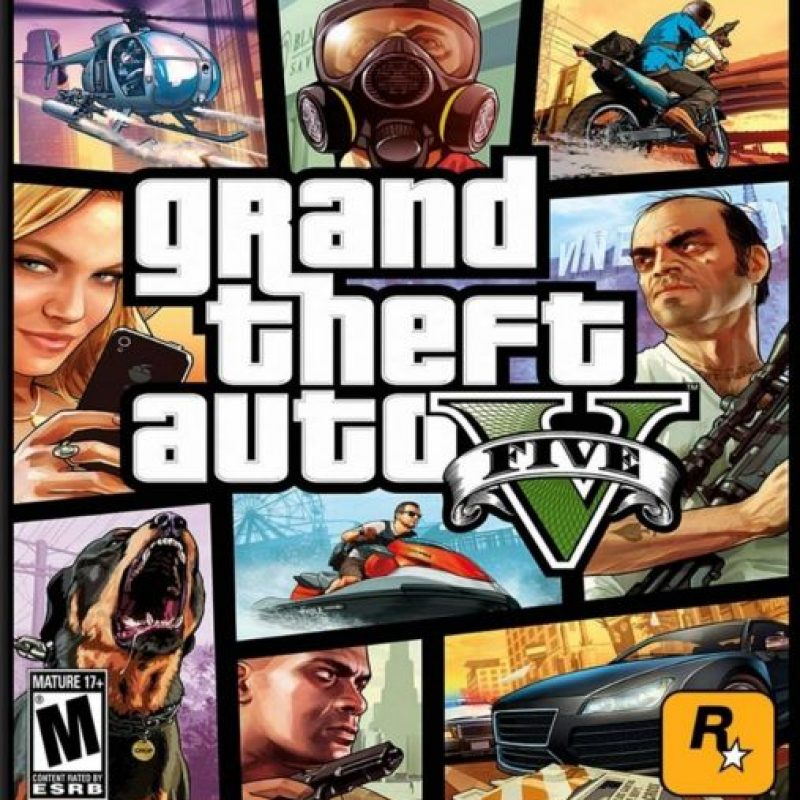 "3- ""Grand Theft Auto V"". 322 millones de dólares. Foto: Take-Two Interactive"