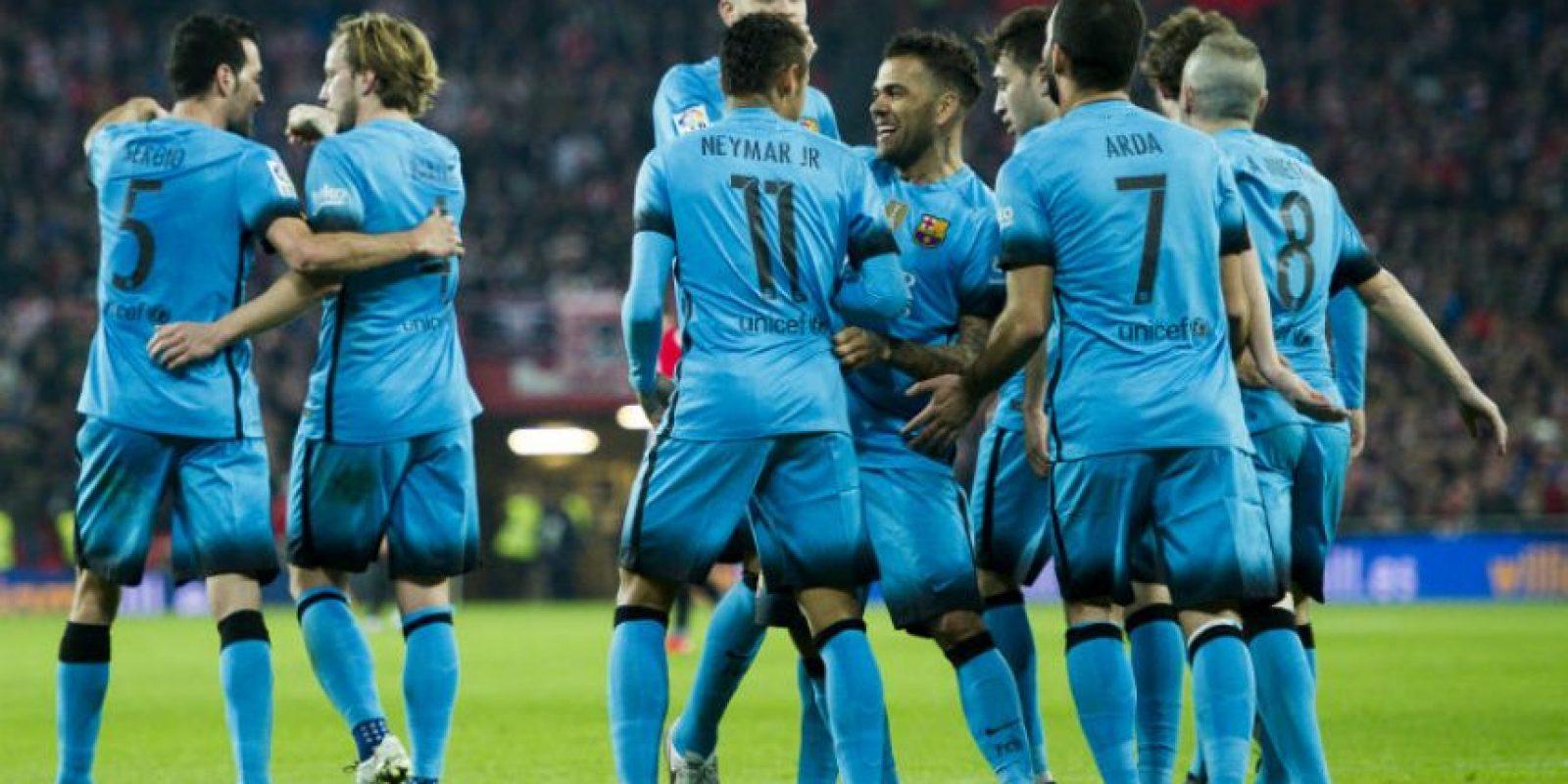Los culés están a un paso de clasificar a las semifinales de la Copa del Rey Foto:Getty Images