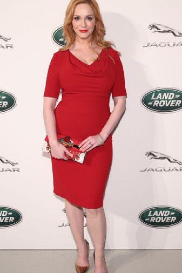 "Christina Hendricks se hizo famosa como la sensual ""Joan"" en ""Mad Men"". Foto:vía Getty Images"