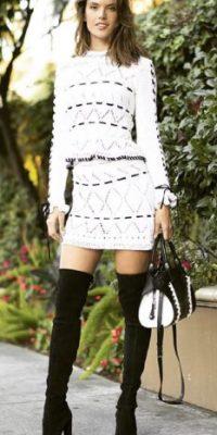 Miren las mejores imágenes de las redes sociales de la modelo brasileña Foto:Vía instagram.com/alessandraambrosio