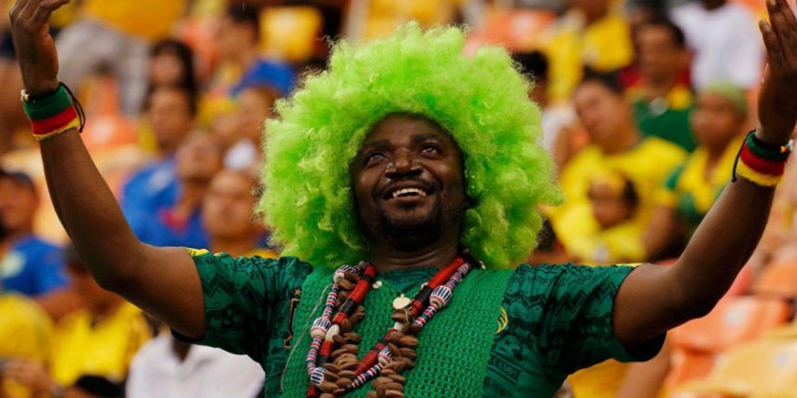 La locura por el fútbol trajo fanáticos de todo el mundo hasta América del Sur Foto:Fuente Externa