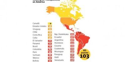 RD es el décimo país más corrupto de América