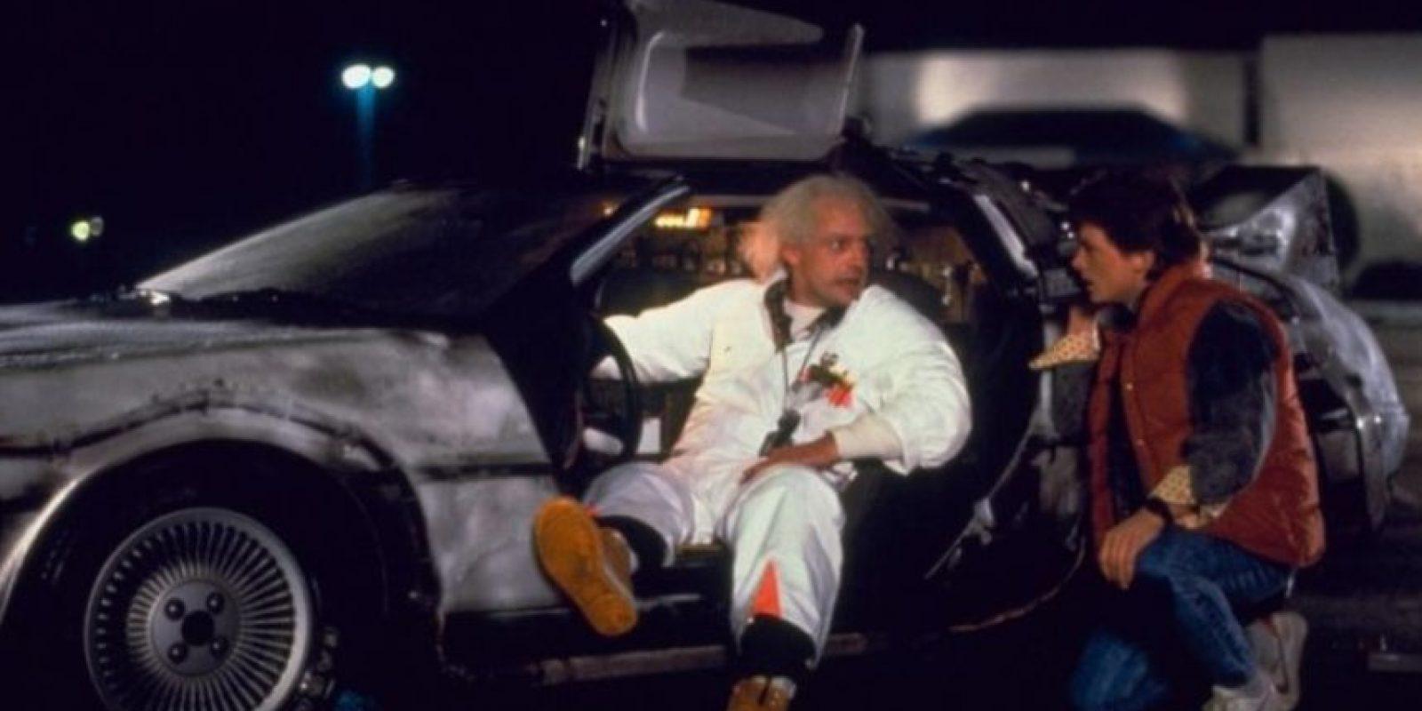 """4. Pantallas planas: """"Marty"""" fue el primero en presenciar la aparición de una pantalla plana. Foto:Universal Pictures"""