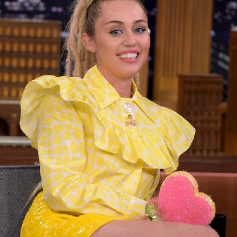 Así luce Miley sin Liam Foto:Getty Images