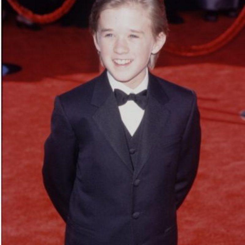"""Haley Joel Osment era el """"niño estrella"""" de finales de la década pasada. Foto:vía Getty Images"""