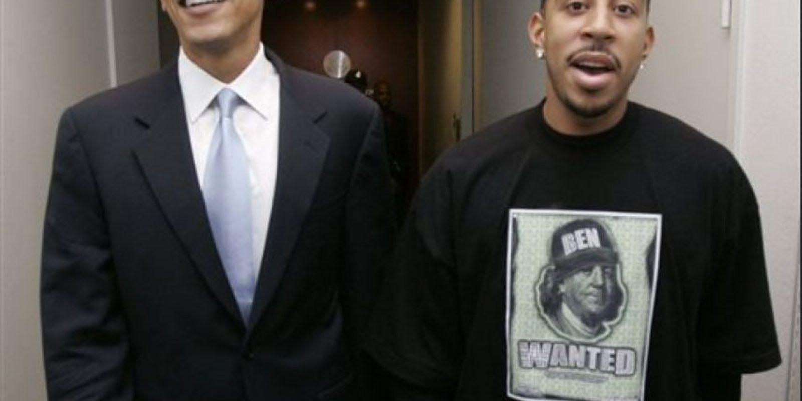 Christopher Brian Bridges, conocido popularmente como Ludacris. Foto:Vía Pinterest