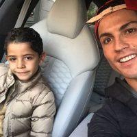 Y, por supuesto, su hijo Cristiano Jr. Foto:Vía instagram.com/cristiano