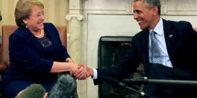 Ha ocupado el cargo de presidenta en dos ocasiones: el primer periodo entre el 11 de marzo de 2006 al 11 de marzo de 2010. Foto:Getty Images