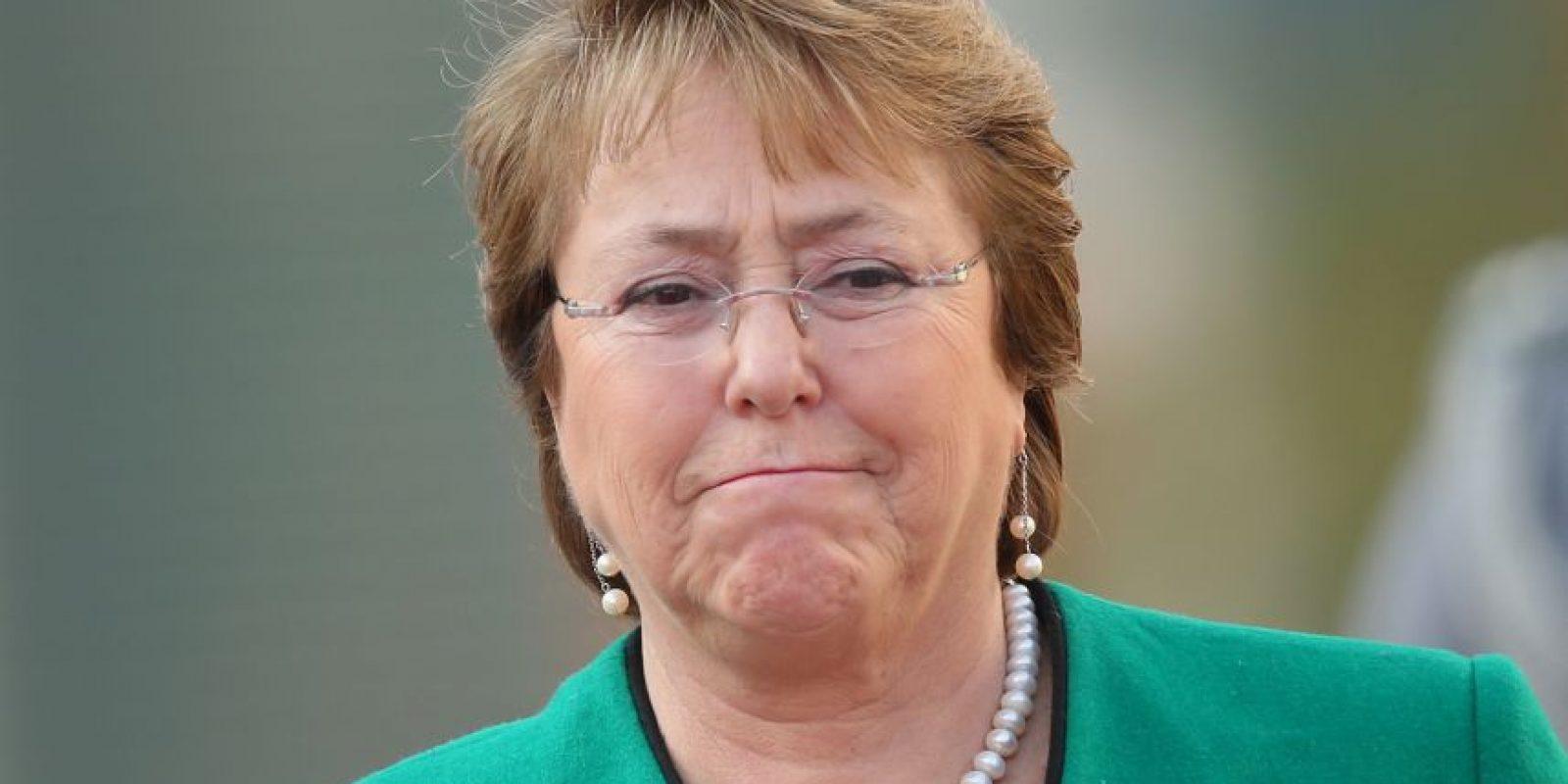 Michelle Bachelet es una médico y política chilena, actual presidenta de la República de Chile. Foto:Getty Images