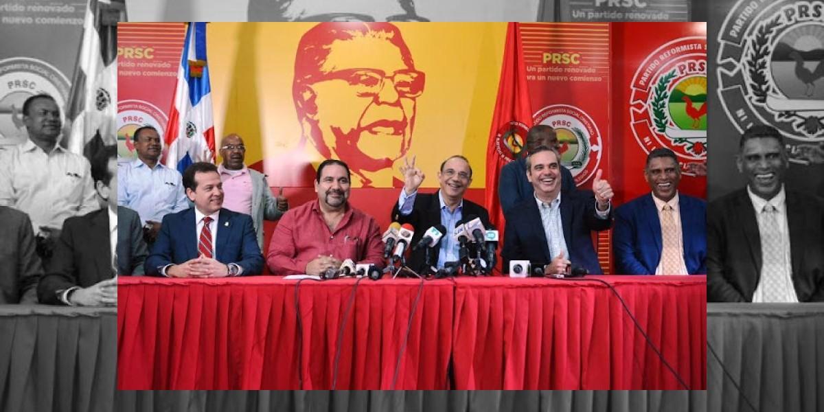 Luis Abinader proclamado candidato por el PRSC