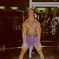 John Cena en el gimnasio a los 19 años Foto:Vía twitter.con/johncena