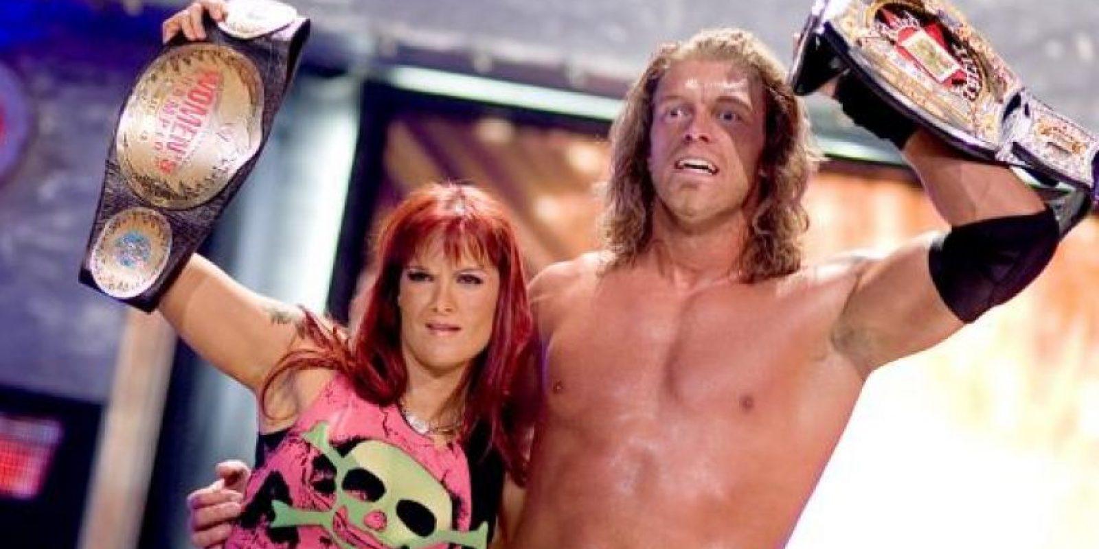8. Lita y Edge Foto:WWE