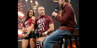 4. AJ Lee y Daniel Bryan Foto:WWE