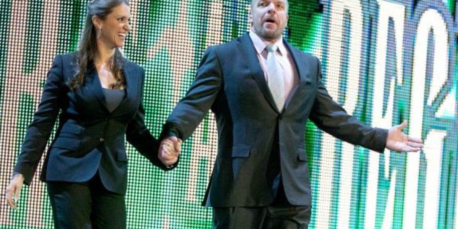 Stephanie McMahon y Triple H Foto:WWE