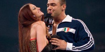 6. Maria y Santino Marella Foto:WWE
