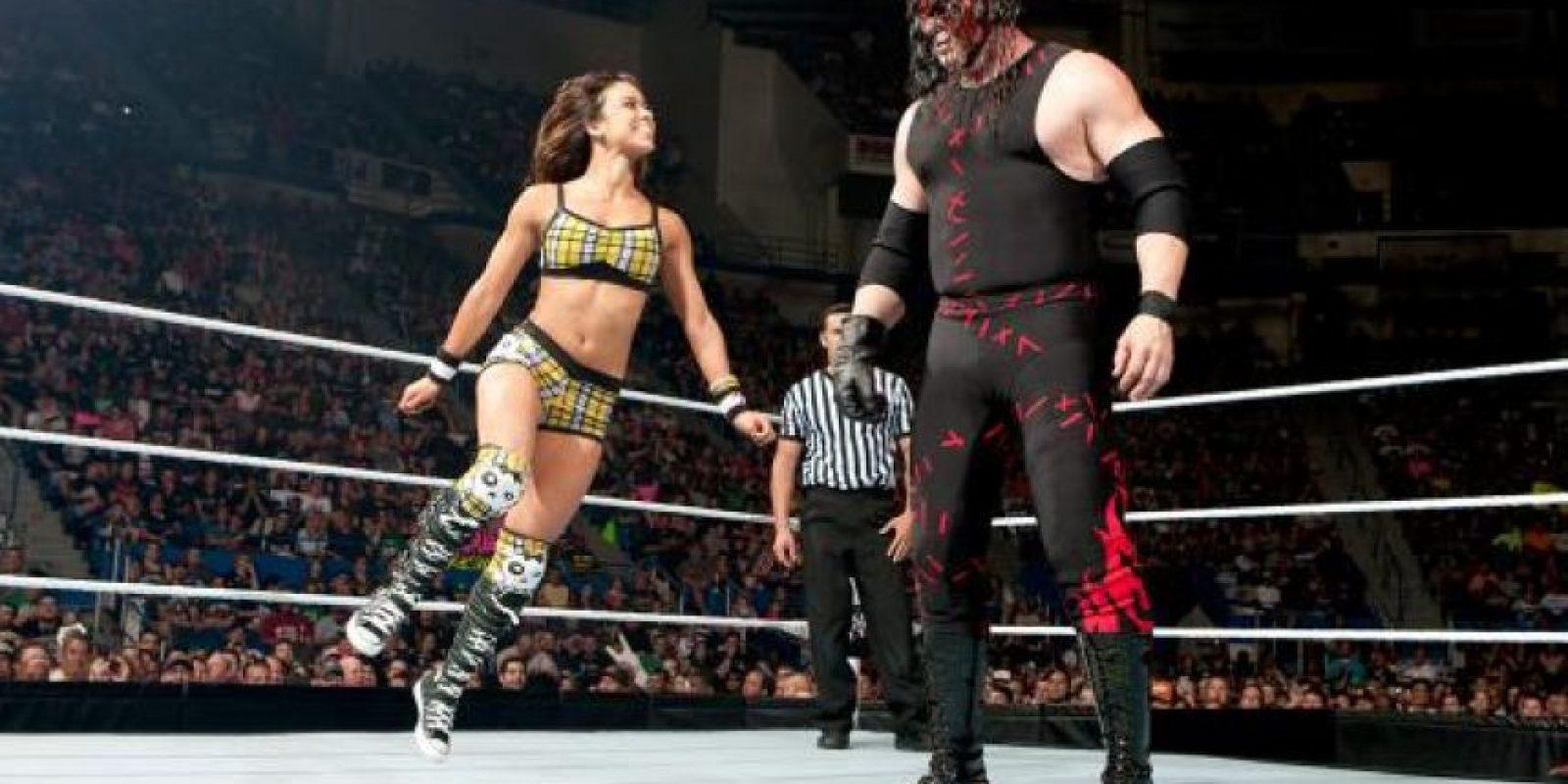 19. AJ Lee y Kane Foto:WWE