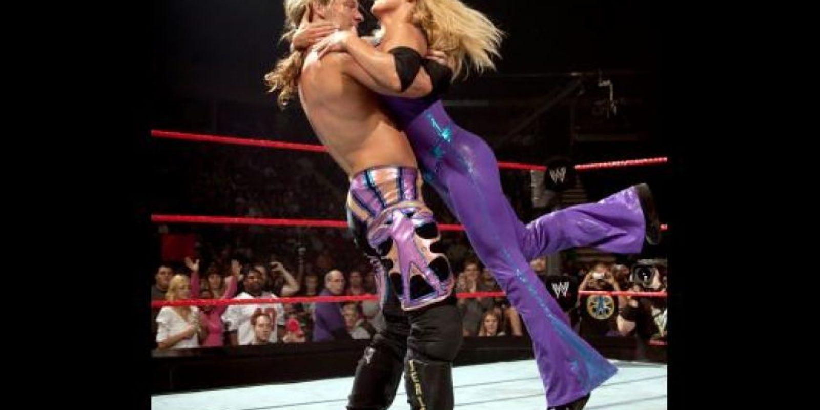 33. Chris Jericho y Trish Stratus Foto:WWE