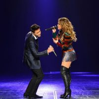 Prince Royce y Jennifer Lopez Foto:Getty Images