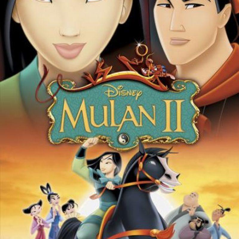 """""""Mulan II"""" – Disponible a partir del 3 de febrero. Foto:Vía Netflix"""