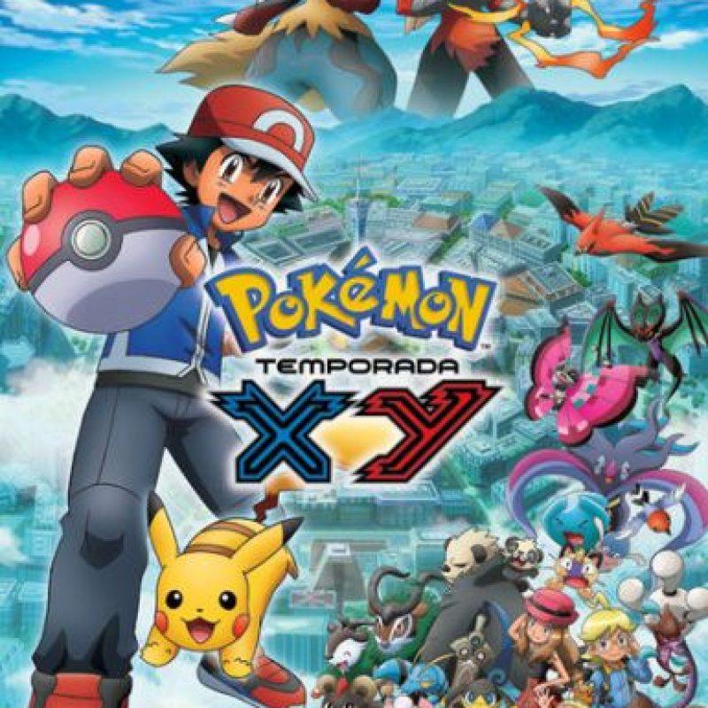 """""""Pokémon: XY"""" – Disponible a partir del 15 de febrero. Foto:Vía Netflix"""