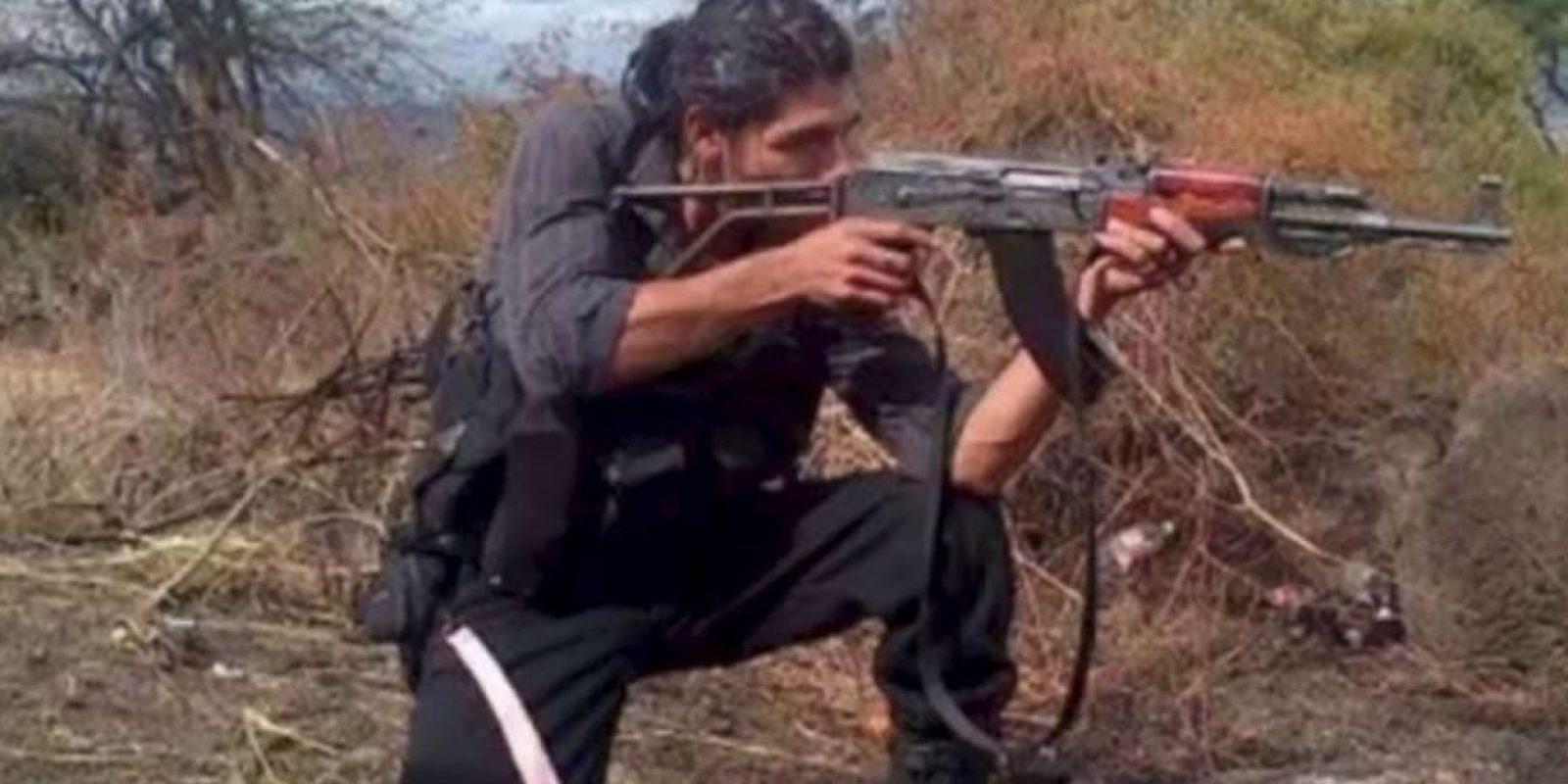 """Broly Banderas"""" es el sicario más poderoso del cartel """"Los Caballeros Templarios"""" de Michoacán. Foto:Vía Facebook/Broly Banderas- Organización ×"""
