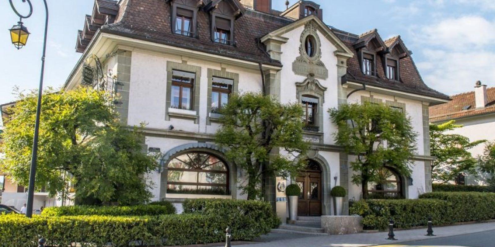 Restaurant de l'Hôtel de Ville, en Suiza, propiedad de Violier. Foto:Fuente Externa