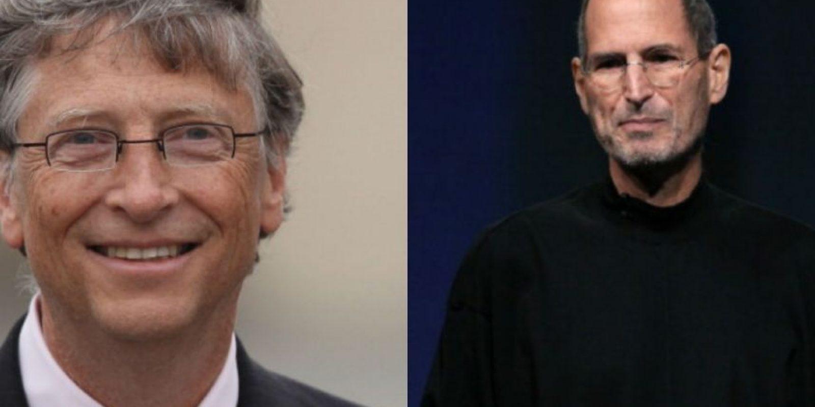 Bill Gates recuerda con cariño a Steve Jobs. Foto:Getty Images