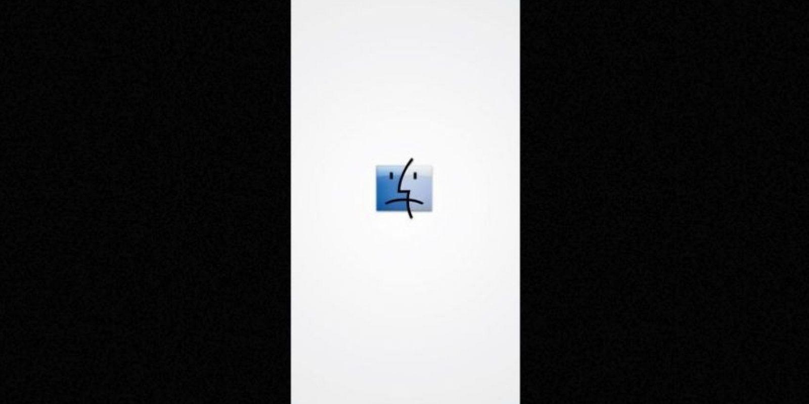 Finder nunca será lo mismo sin Jobs, el símbolo de este programa dejó de sonreír. Foto:Vía Tumblr.com