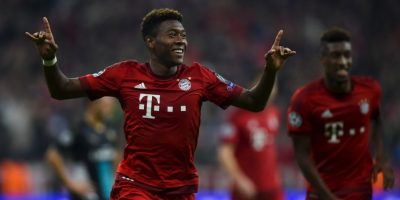 DEFENSAS: David Alaba (Bayern Munich) Foto: Getty Images