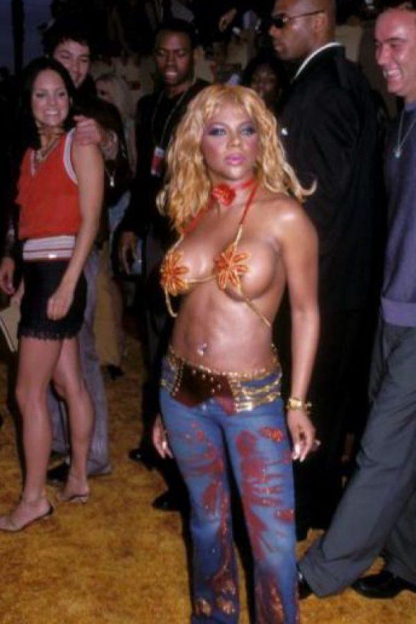 La vulgaridad de Lil Kim siempre ha sido su sello. Foto:vía Getty Images