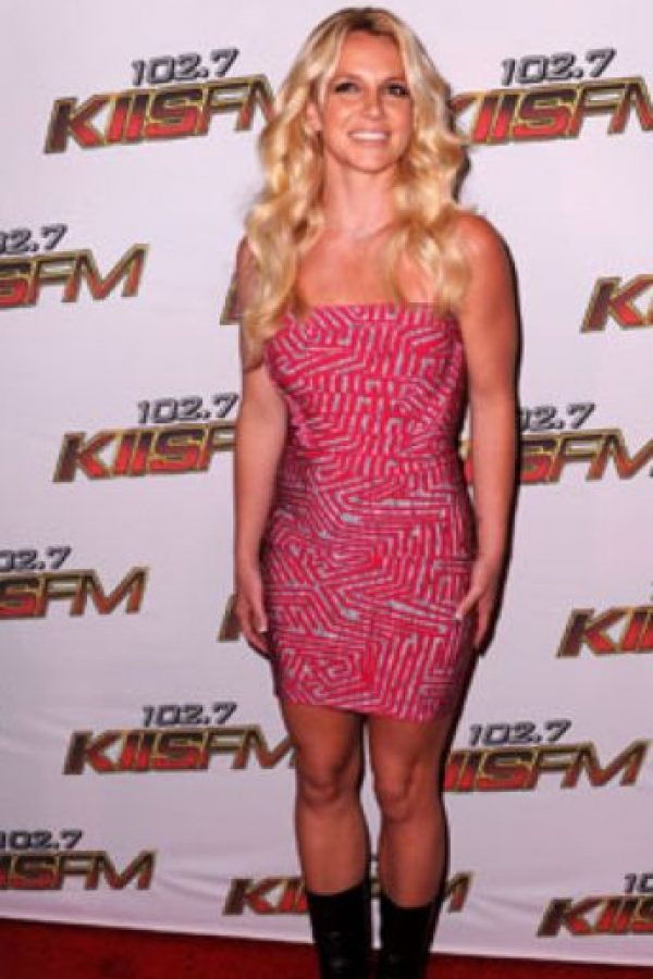 Britney como Kim Kardashian pero en Paris Hilton. Foto:vía Getty Images