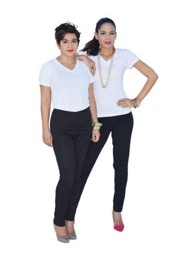 Diana Suriel y Verónica Lora