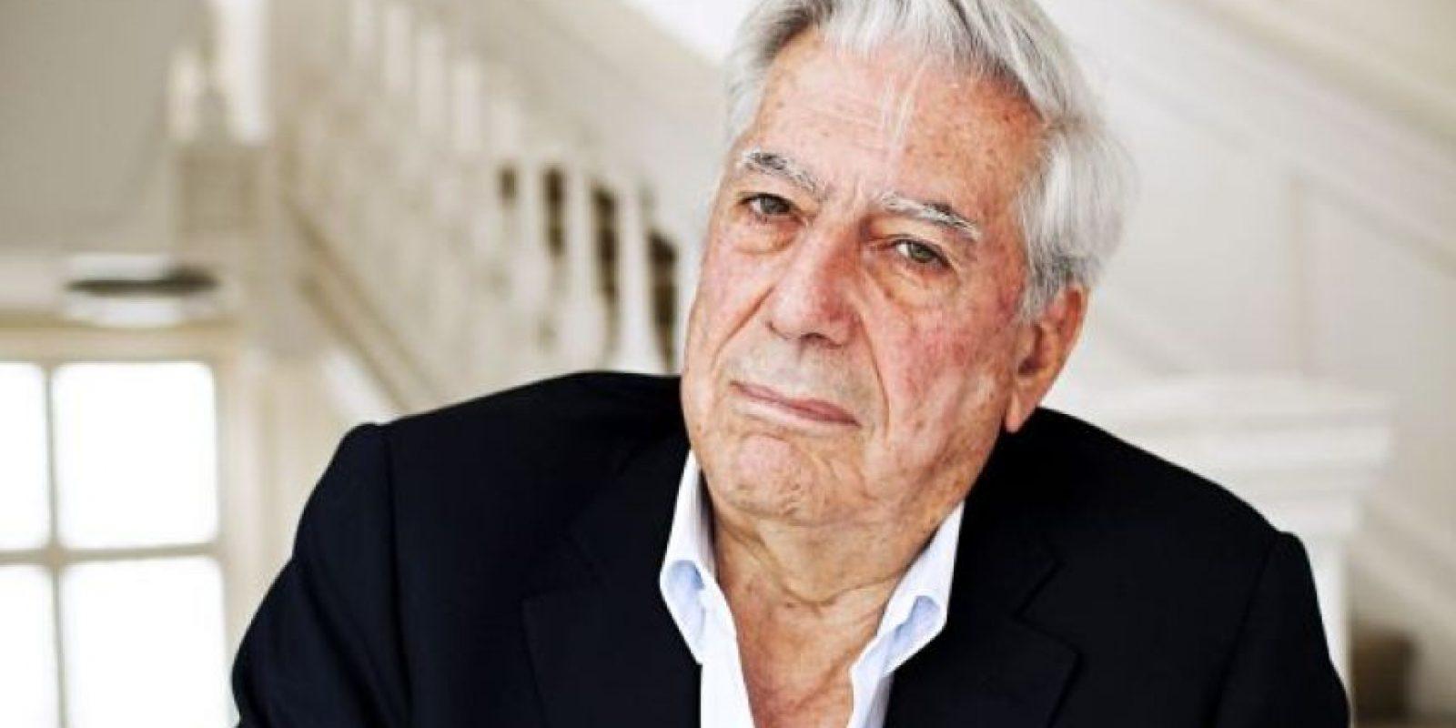 El escritor peruano Mario Vargas Llosa Foto:Fuente Externa