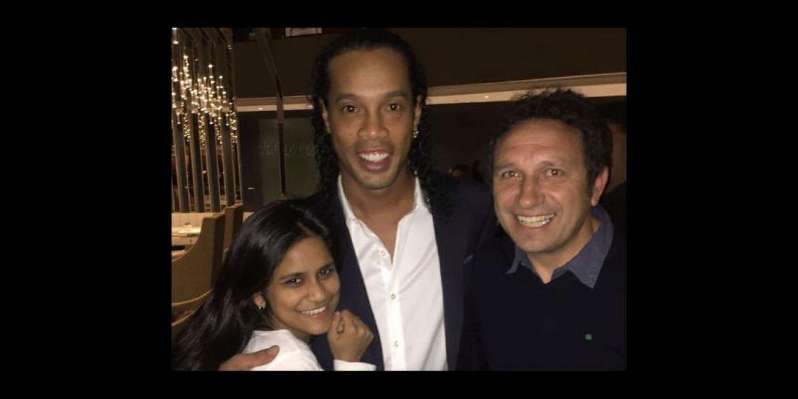 Eusebio Sacristán, actual DT de la Real Sociedad, y su hija Foto:Via twitter.com/eusebiosacristan