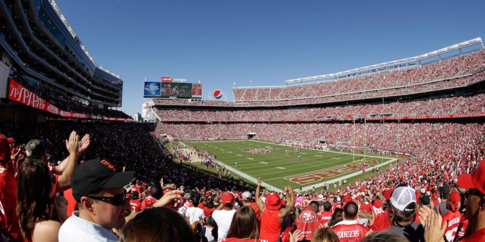 Cada asistente al Levi's Stadium gastará un promedio de 430 dólares entre bebidas, comida y souvenirs. Foto:Getty Images