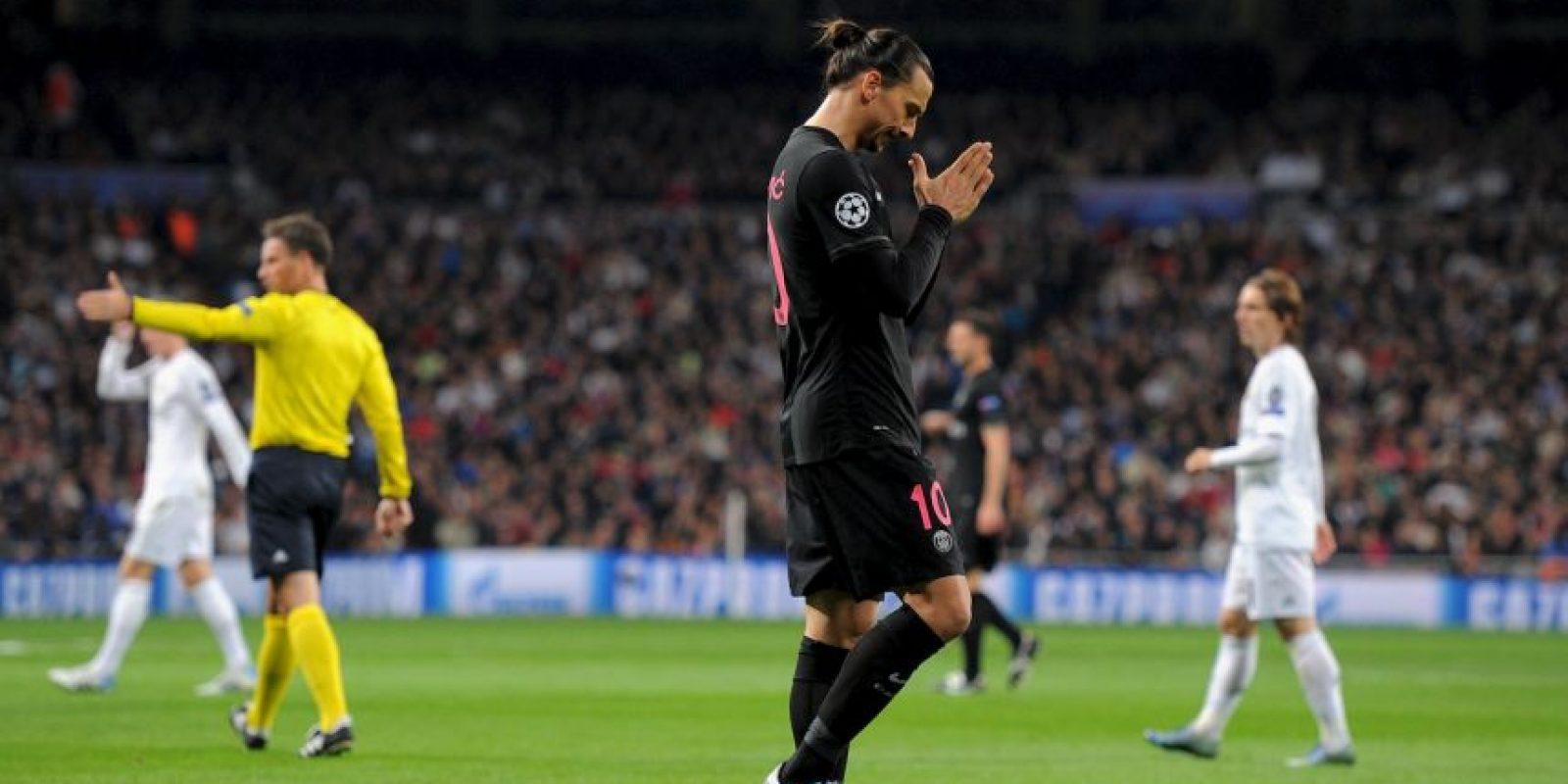 Zlatan Ibrahimovic es la máxima figura del PSG y de la Liga de Francia Foto:Getty Images