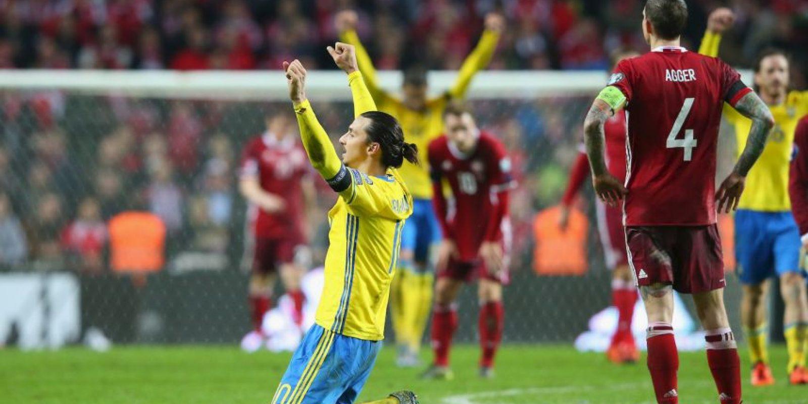 Es un polémico delantero sueco Foto:Getty Images