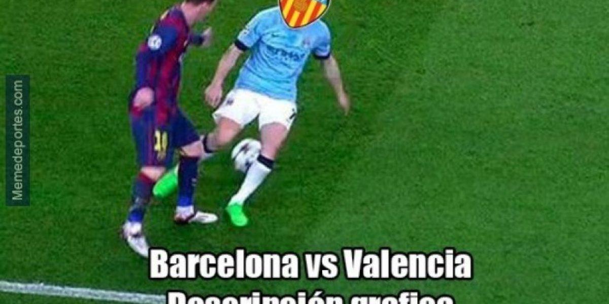 Los mejores memes de la humillante goleada del Barcelona al Valencia