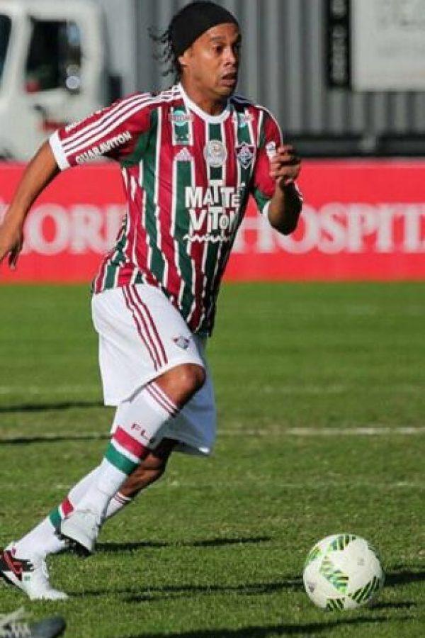 Su último equipo fue el Fluminense brasileño Foto:Vía instagram.com/ronaldinhooficial