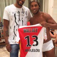 El brasileño Wallace dos Santos Foto:Vía instagram.com/ronaldinhooficial