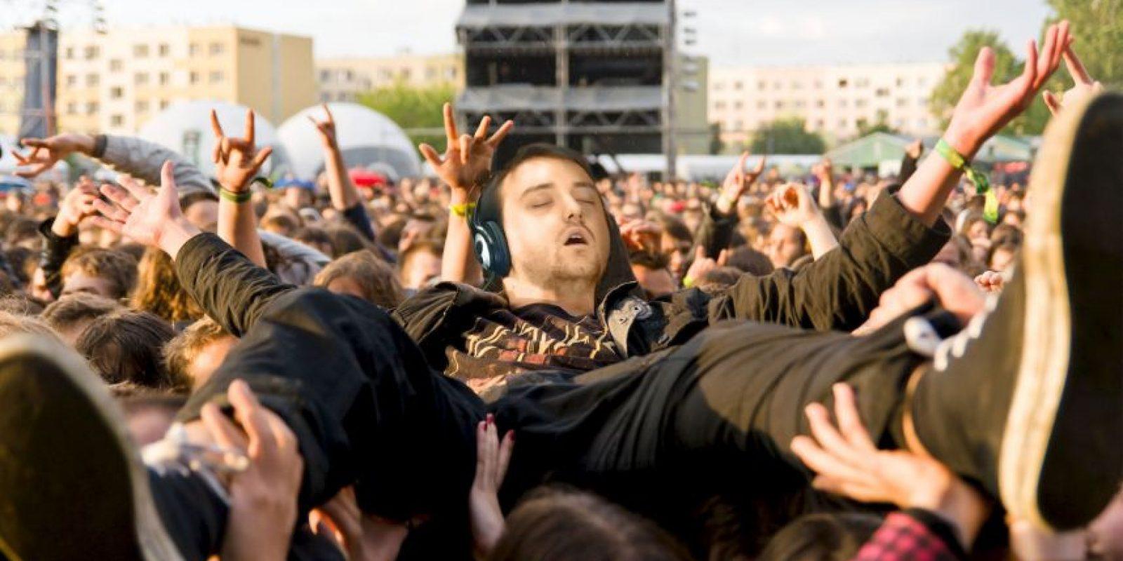 """Recibió un trato de verdadera """"estrella de rock"""" Foto:Imgur / Reddit"""