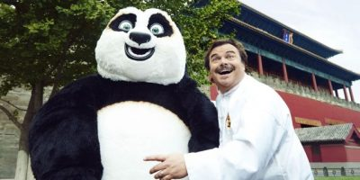 """Jack Black: """"No soy maestro de Kung Fu,pero me defiendo"""""""