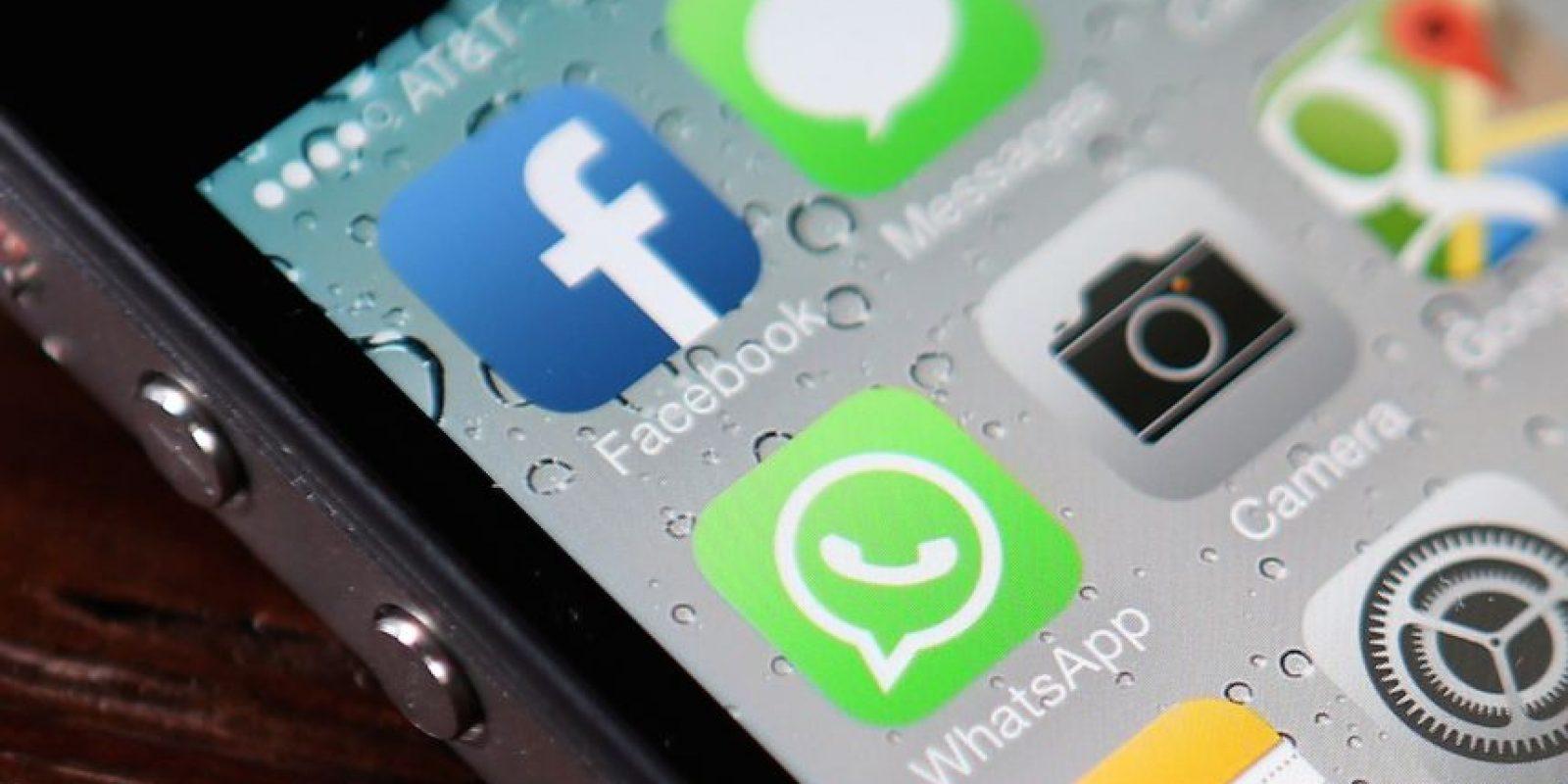 9- WhatsApp tiene mil millones de usuarios activos cada mes. Foto:Getty Images