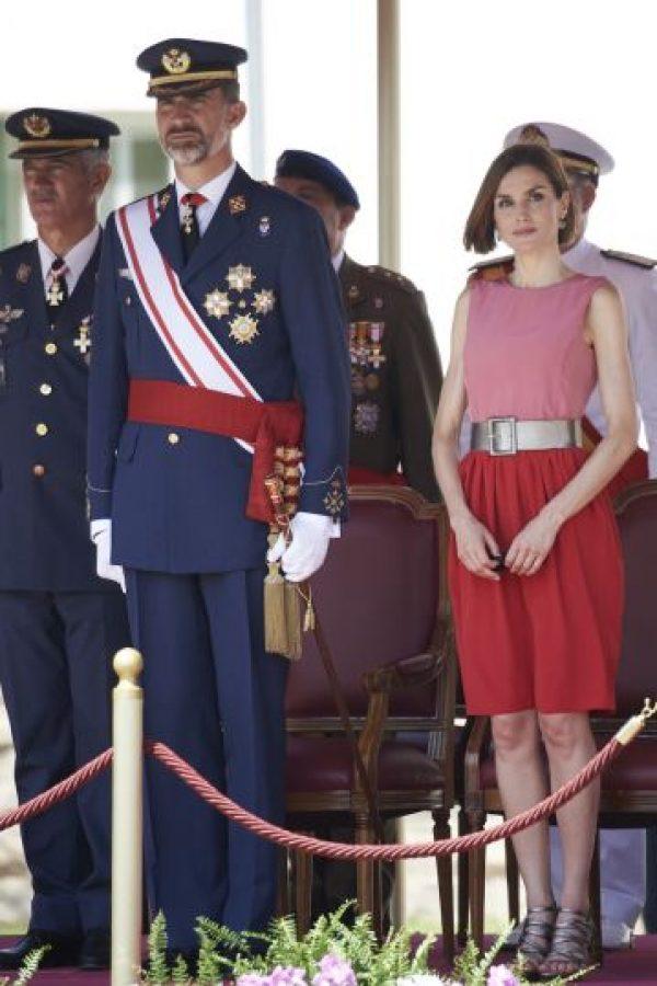 Outfits de Letizia que la hicieron lucir espectacular Foto:Getty Images