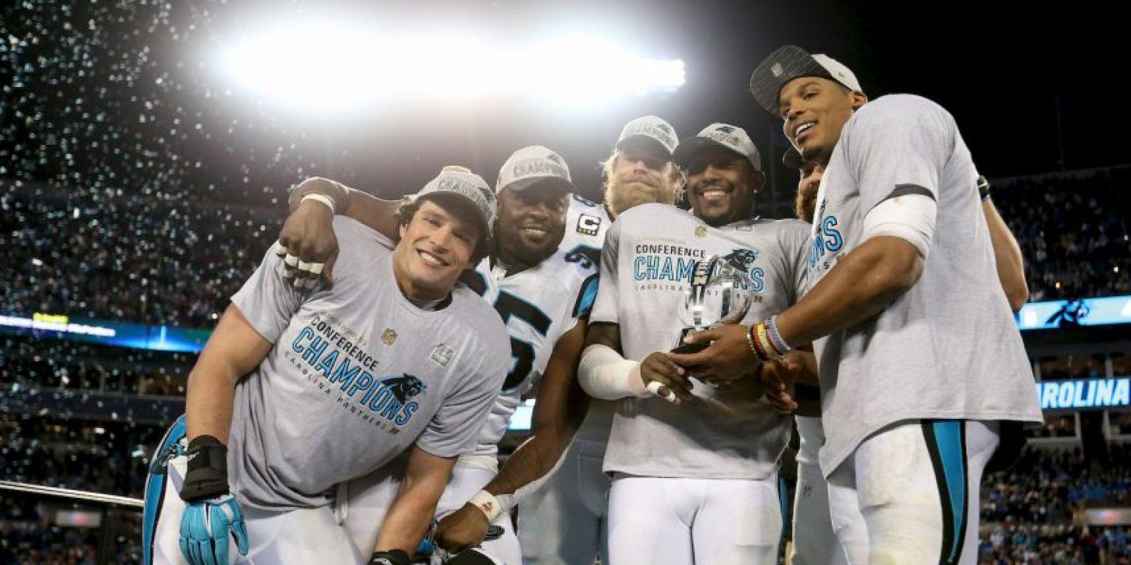 El Super Bowl 50 lo protagonizarán Carolina Foto:Getty Images