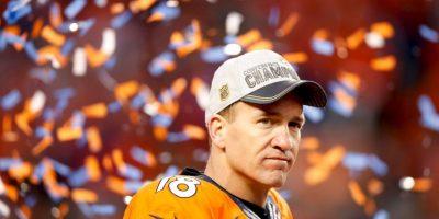 Es probable que sea la última vez que veamos jugar a Peyton Manning Foto:Getty Images