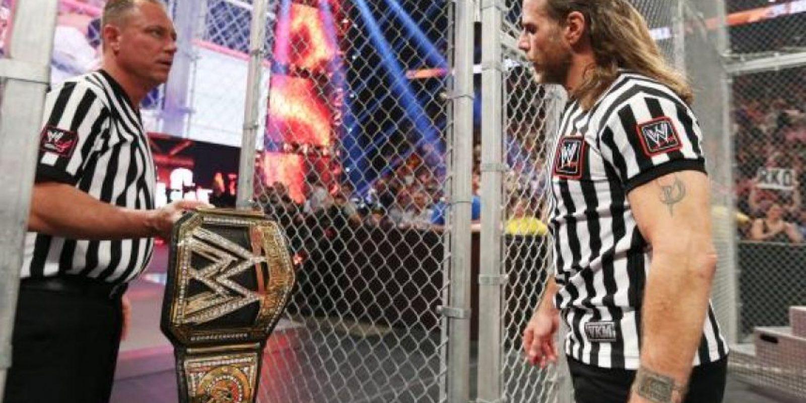 """En muchas ocasiones el """"Chico rompecorazones"""" ha sido un réferi especial Foto:WWE"""