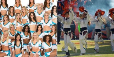 El otro Super Bowl 50: Duelo de bellas porristas de Carolina y Denver